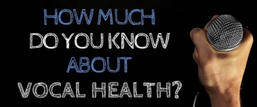 What is vocal health. vocal health for singers